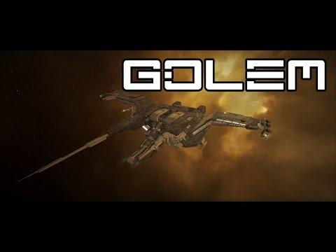 EvE Online Solo PvP| RELEASE THE KRAKEN | Golem vs 50+ Fleet