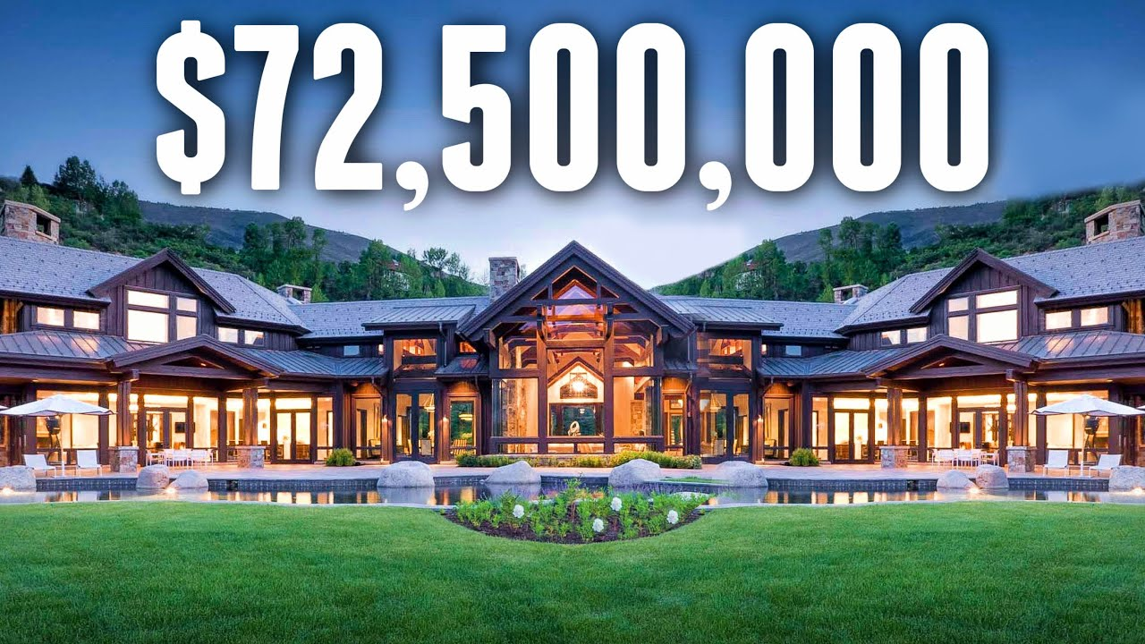 Inside The MOST EXPENSIVE Home in Colorado | Mansion Tour