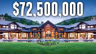 Download Inside The MOST EXPENSIVE Home ever sold in Colorado   Mansion Tour