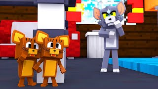 DOIS RATOS VS UM GATO! ESCONDE-ESCONDE - TOM E JERRY (Minecraft)