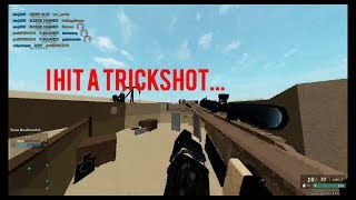 I HIT A TRICKSHOT WITH THE UNRELEASED SNIPER... (roblox)