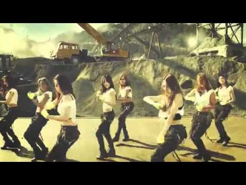 SNSD Catch me if you can Dance Version Mirrored