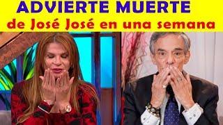 EN UNA SEMANA José José PERDERÁ LA VIDA: Mhoni Vidente (VIDEO)