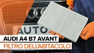 Manutenzione Audi A4 B8 - video guida