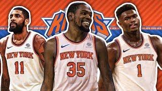 REBUILDING THE NEW YORK KNICKS IN NBA 2K19!