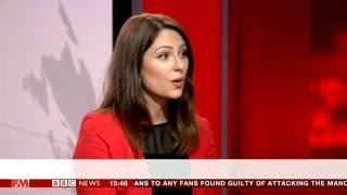 Nicola Thorp High Heels at Work Row - BBC News 11/5/16