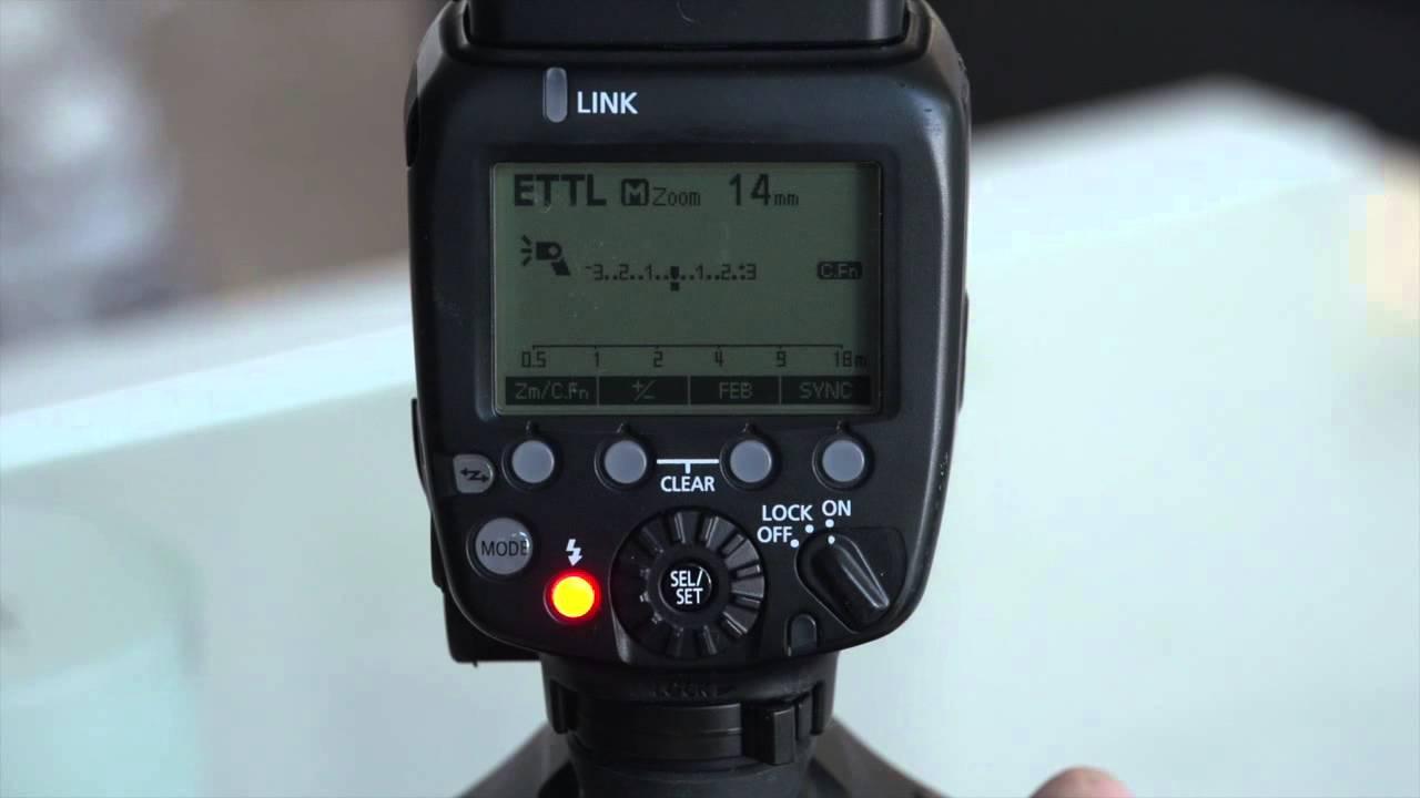 how to use speedlite 600ex rt