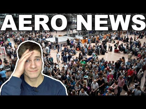 Flughafen HAMBURG Außer Betrieb! AeroNews