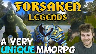 New MMORPG With Lots Of Potential! - Forsaken Legends (First Look)