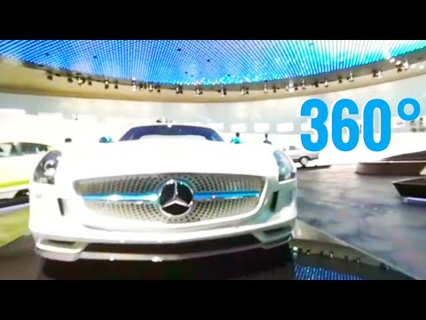 Mercedes Benz Museum Germany Stuttgart - Best Google Cardboard 3D 360 VR videos