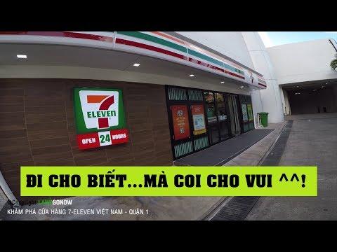 Đi cửa hàng 7-Eleven Việt Nam tuyệt đẹp - Mở cửa 24/24, giá sang chảnh - Land Go Now ✔
