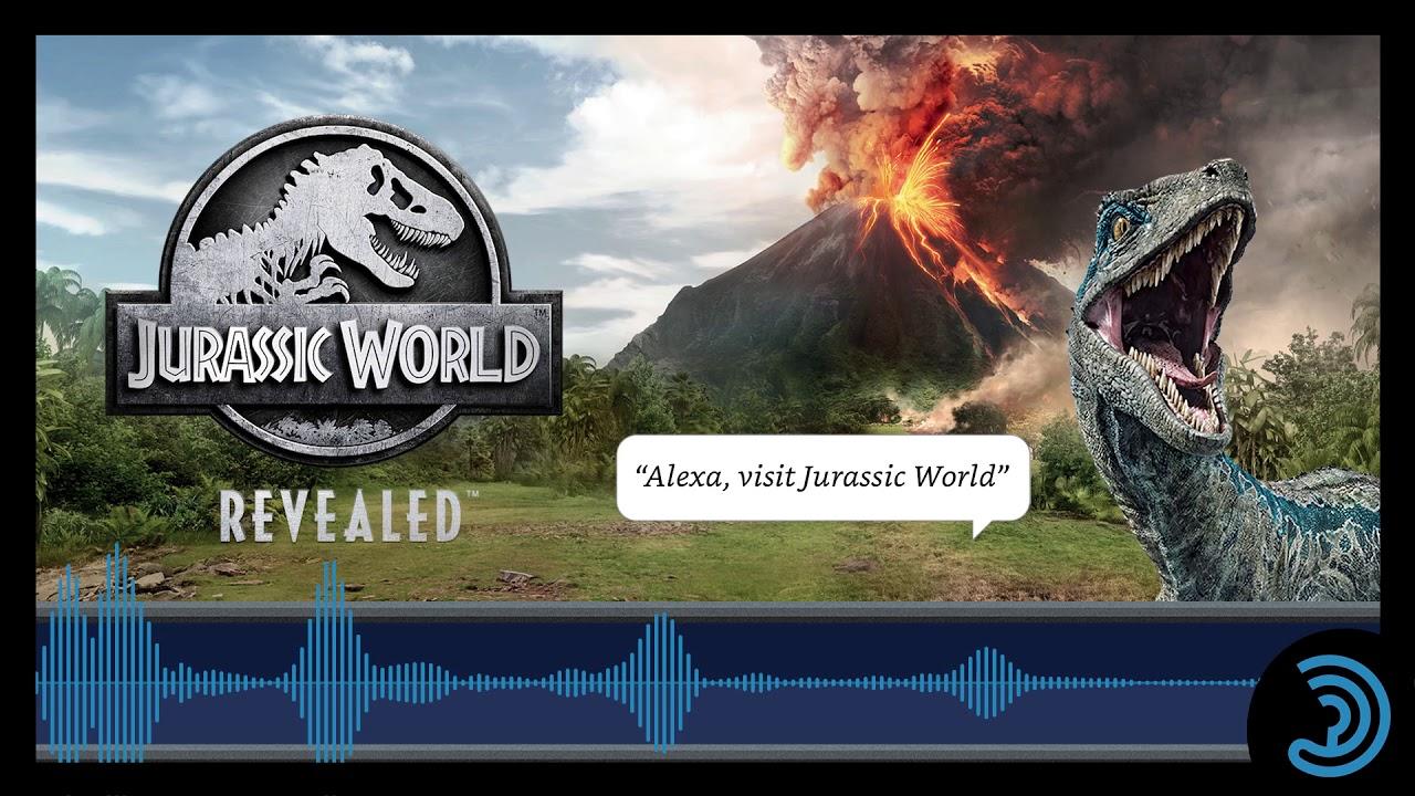 Jurassic World Revealed - Audio Trailer
