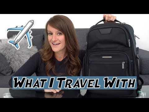 What's In My Travel Backpack! 🎒 ✈️