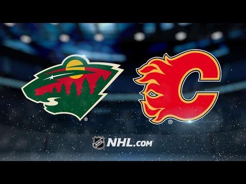 Minnesota Wild Vs Calgary Flames
