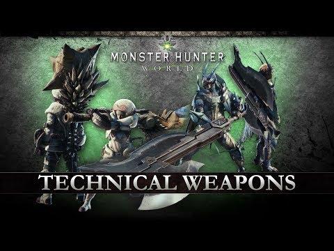 Monster Hunter: World - Technical Weapons