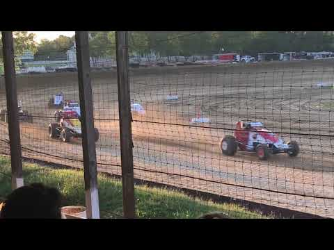 Charleston Speedway Sprint Car Heat 2 September 1 2018