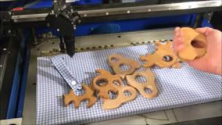 Making Wood Baby Teethers with laser cutter and other tools