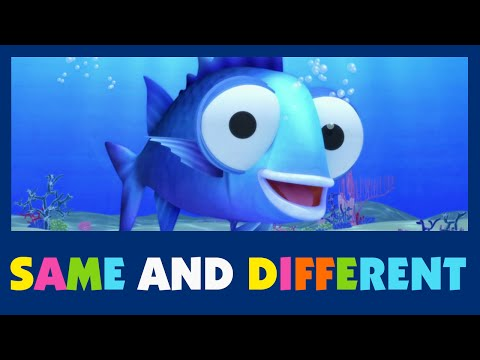 Same and Different - #07 Sing and Learn - Learn same and different - for babies and kids