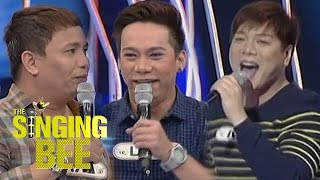 Kapamilya comedians MC, Lassy and Eric on The Singing Bee
