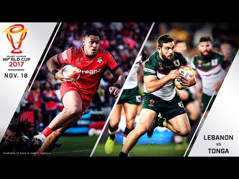 Lebanon vs Tonga Live Stream - 2017 Rugby League World Cup Quarterfinal