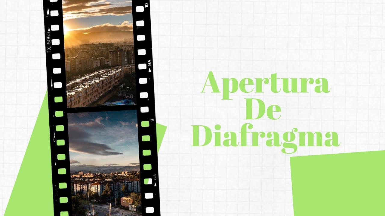 Apertura de diafragma – Fotografia