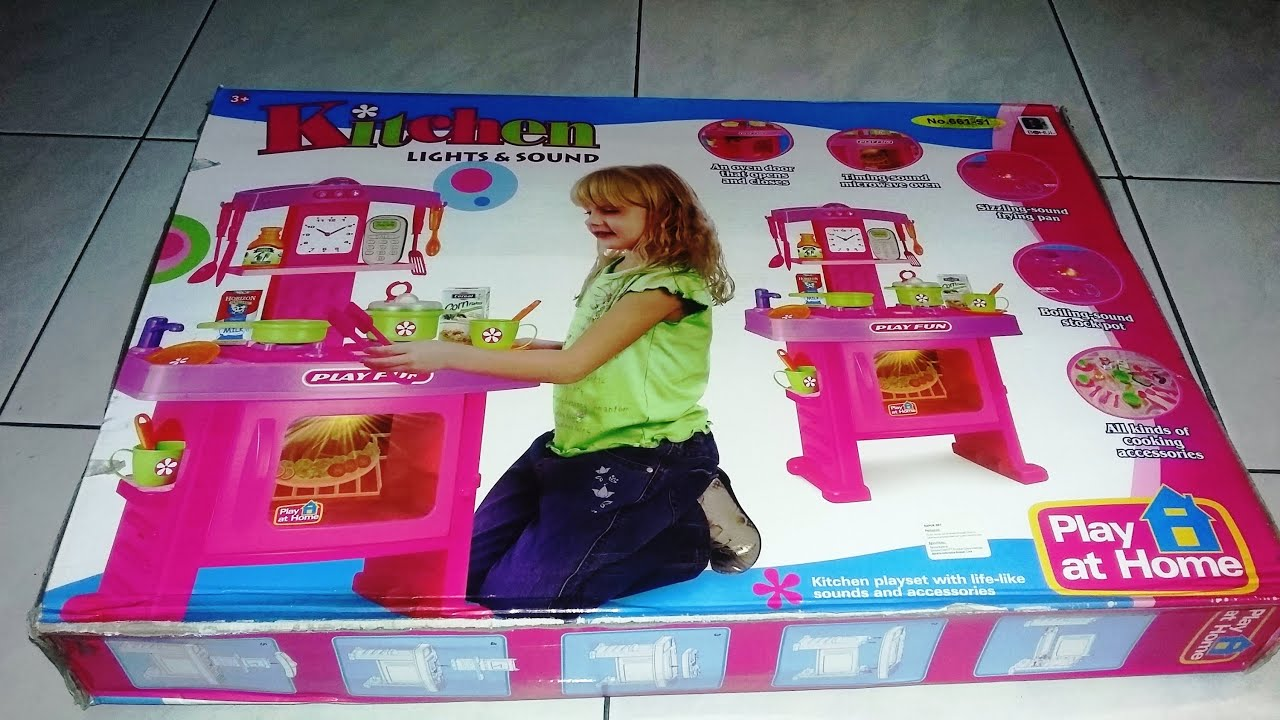 Kitchen set light and sound toys from Kids and Play World