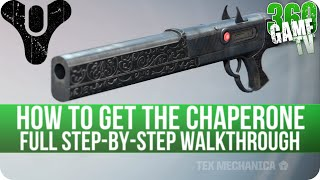 Destiny How to get the Chaperone (Exotic Shotgun) - Full Step-by-Step Walkthrough - The Taken King
