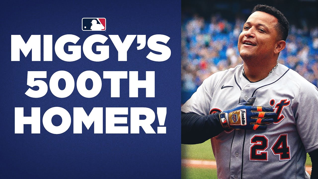 Tigers' Miguel Cabrera hits 500th home run on Sunday