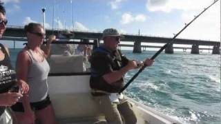 Monster Shark Attacks Fishing Boat Florida Keys