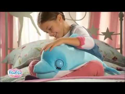 Blu Blu The Baby Dolphin Soft Toy at B&M Stores