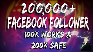 Facebook Auto Followers 2017 Trick 100% Works