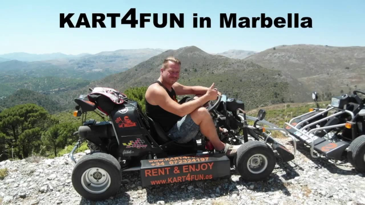 Kart 4 Fun Marbellafamilyfun Com Youtube