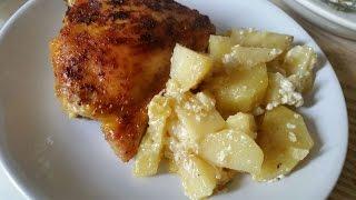 Запеченный Картофель с Курицей - DIY Еда и Напитки - Guidecentral