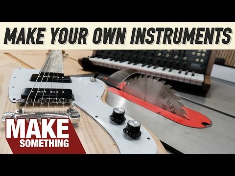Making Musical Instruments | 4 Woodworking Projects