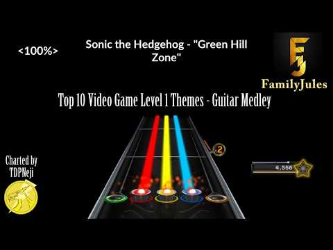 Clone Hero: FamilyJules - Top 10 Video Game Theme Medley Series (All 12  medleys, Guitar Expert only)