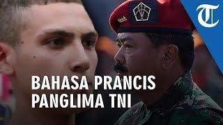 VIDEO Alasan Marsekal Hadi Tjahjanto Ajak Ngobrol Enzo Berbahasa Prancis