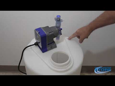 How To Set Up J-PRO-22 Chlorinator Or Peroxide Well Injection Pump