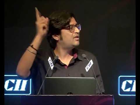 Arnab Goswami at CII 2016