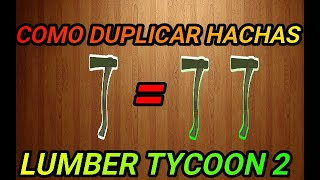 !!! HOW TO DUPLICATE ALATS IN LUMBER TYCOON 2!!! Roblox 2019 very easy!!!