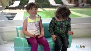 Kids Mustang 2 Seater Sofa Chair By Hip Kids
