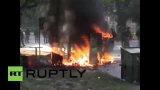 India: Watch all hell break loose in Indian campus clashes