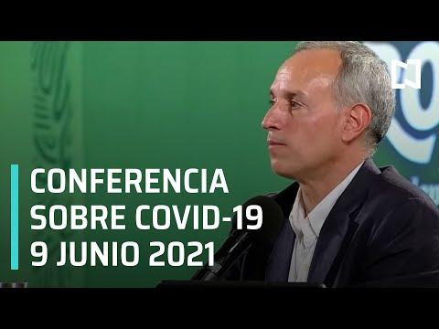 Informe Diario Covid-19 en México - 9 junio 2021