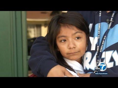Good Samaritan foils kidnapping of girl walking to school in Santa Ana | ABC7