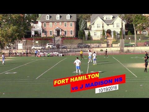 VARSITY SOCCER - FORT HAMILTON vs JAMES MADISON HS
