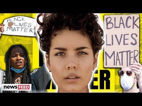 Halsey INJURED During Peaceful Protest & More Celebs Speaking Up