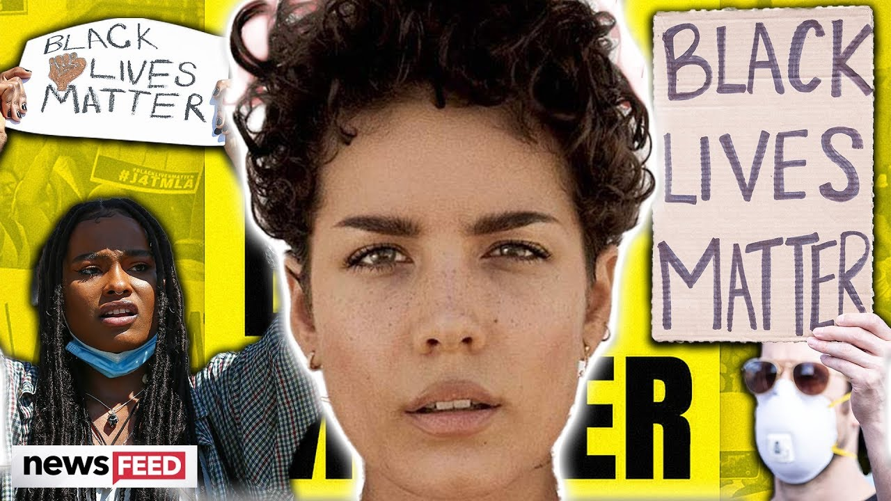 Halsey Provided Injured Protesters With Medical Treatment, Says 'I ...