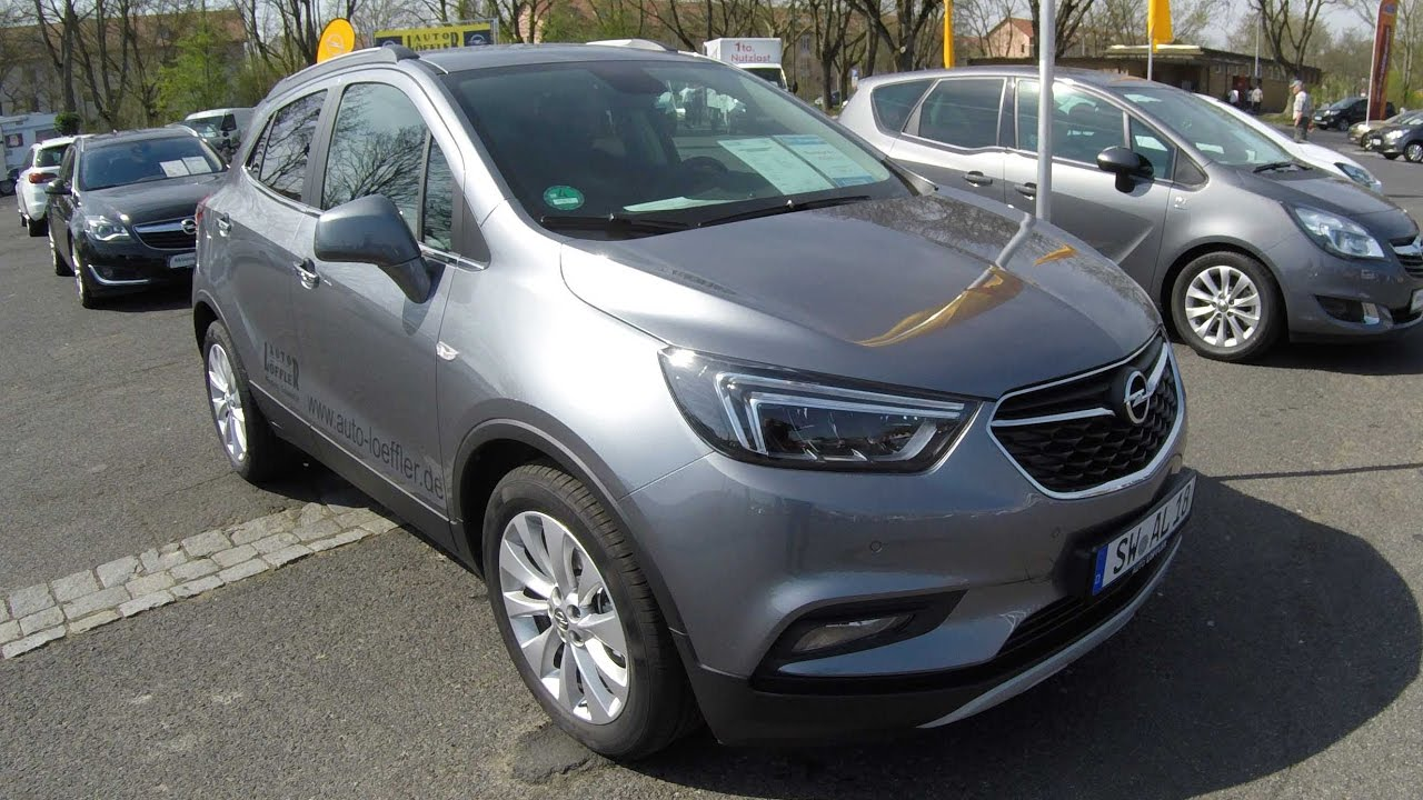 opel mokka x compilation 2 snow white light grey new model 2017 walkaround interior. Black Bedroom Furniture Sets. Home Design Ideas