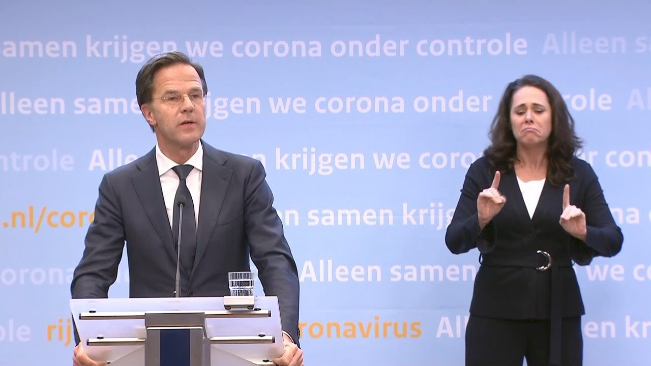 21 April 2020: Inleidend Statement Persconferentie Mark