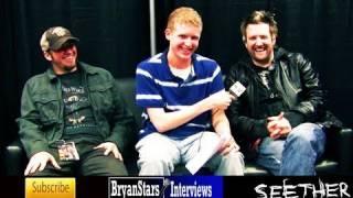 Seether Interview John Humphrey & Troy McLawhorn Nickelback Tour 2009