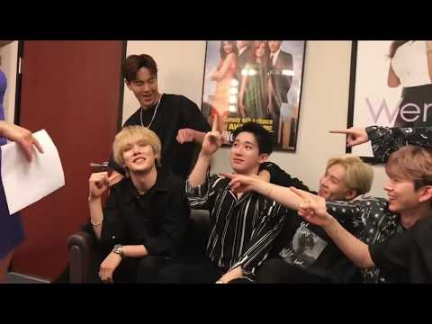 Behindthescenes with Monsta X on Good Day LA